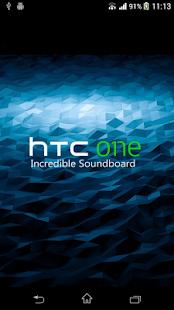 HTC One Incredible Soundboard