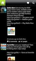 Screenshot of Black for Facebook