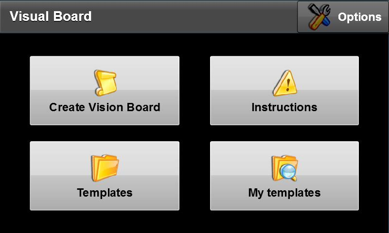 Vision board android apps on google play for Vision board templates free