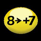 8 to +7 icon