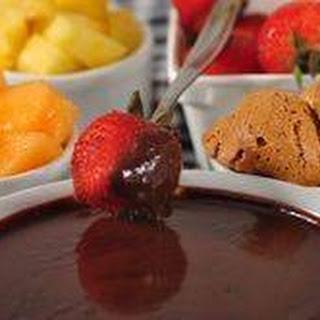 Chocolate Fondue Recipe & Video