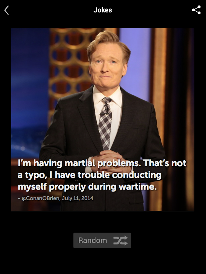 Conan O'Brien's Team Coco- screenshot