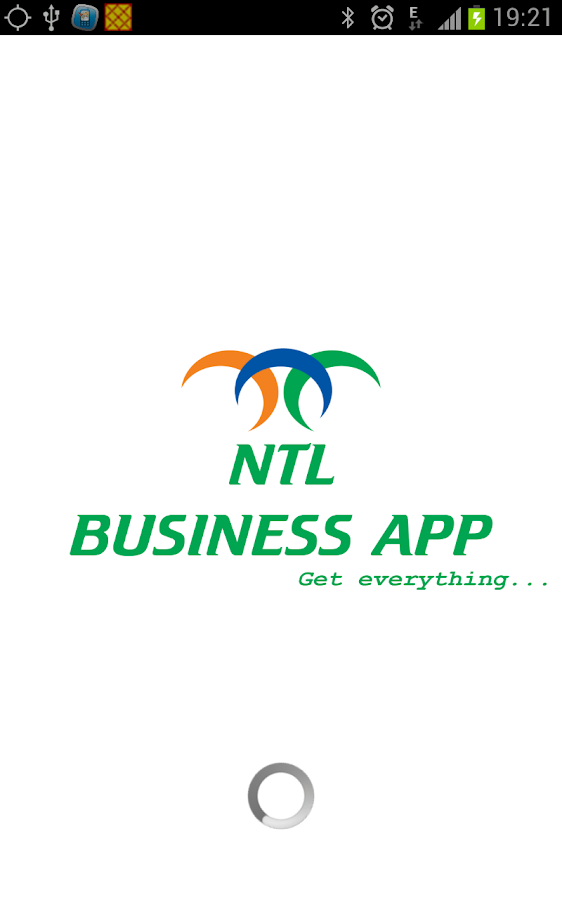 NTL BUSINESS APP - screenshot