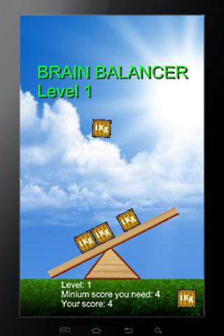 Brain Balancer- screenshot