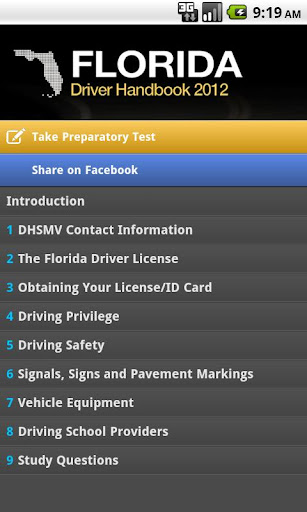 Florida Driver Handbook Free
