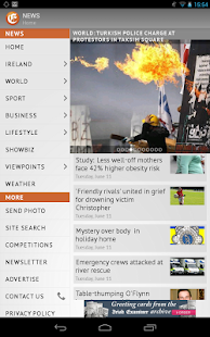 Irish Examiner- screenshot thumbnail