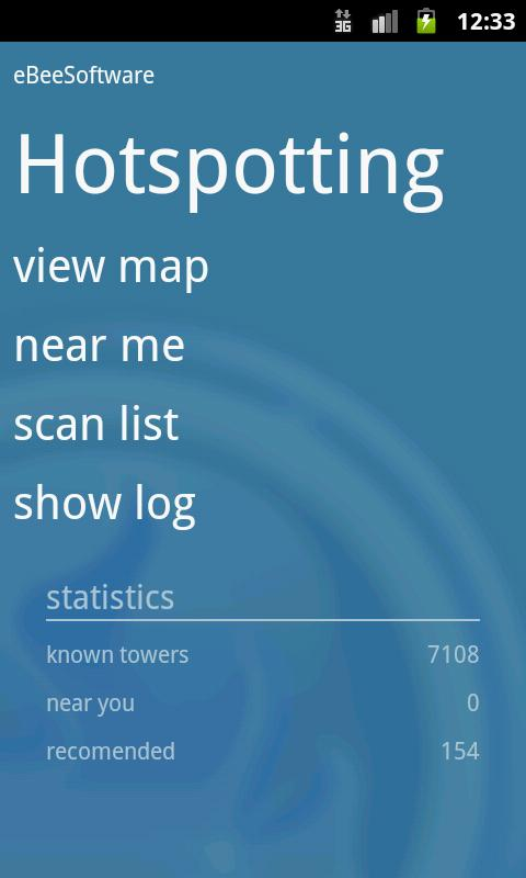 Hotspotting - Free WiFi Map- screenshot