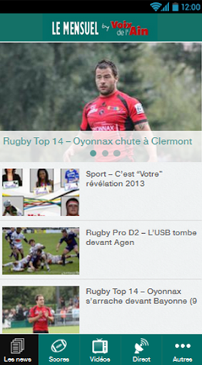 Le Mensuel Rugby