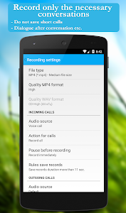 Call recorder (Free) screenshot 4