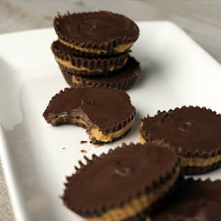 Homemade Peanut Butter Cups With Bourbon.