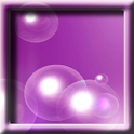 Purple Soap Bubbles LWP logo