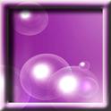 Purple Soap Bubbles LWP logo