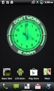 10 Green Neon Clocks- screenshot thumbnail