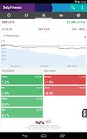 Screenshot of DailyFinance – Stocks & News