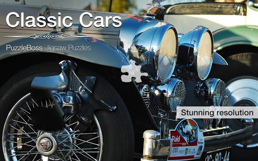 Classic Cars Jigsaw Puzzles