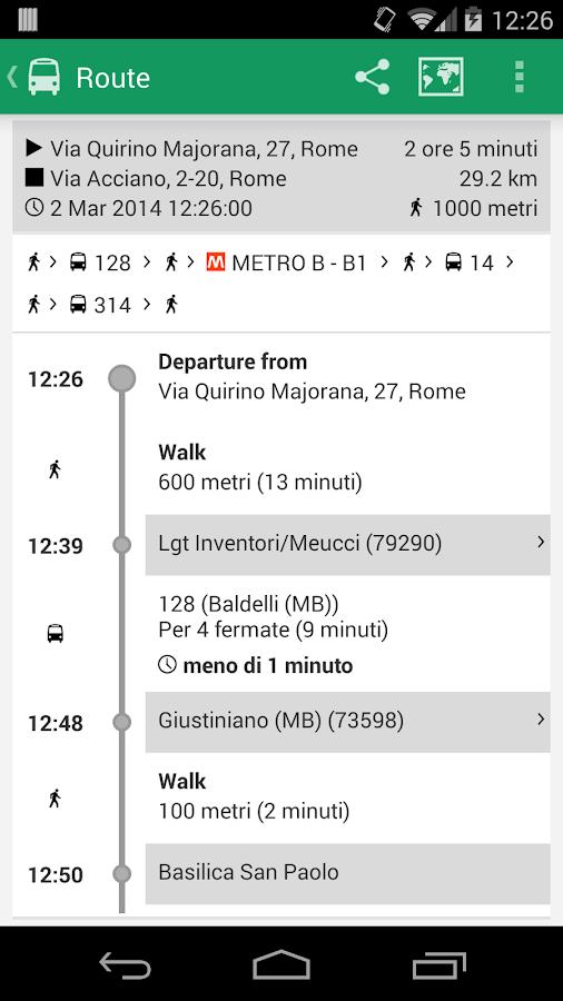 Autobus Roma - screenshot