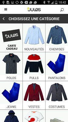 Jules - mode & style homme - screenshot