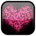 Pixel! Heart Live Wallpaper icon