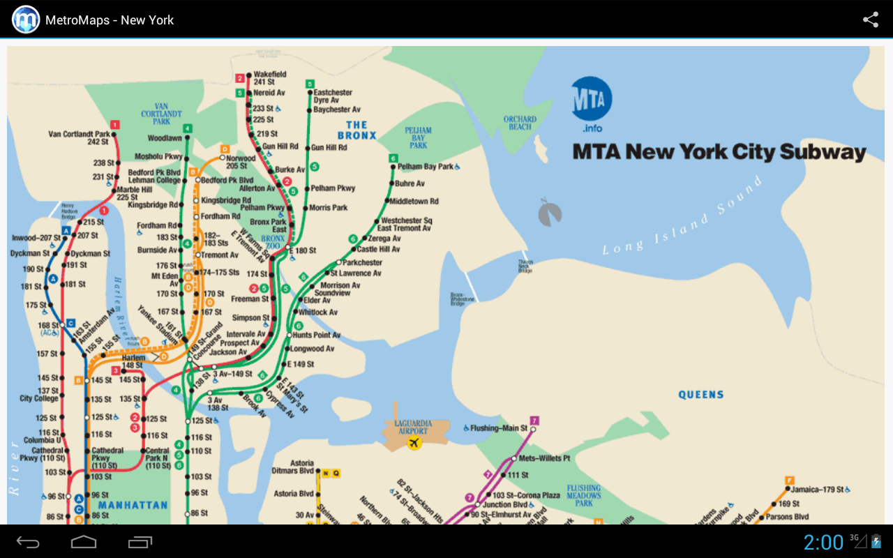 MetroMaps, 100+ subway maps - screenshot