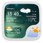 ATROVIRENS THEME GO WEATHER EX