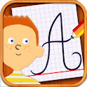 Cursive & joined-up writing icon