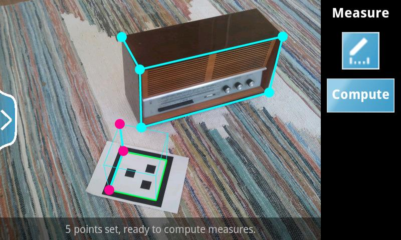 Happy Measure 3D Ruler - screenshot