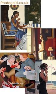 Jack Vettriano Art Gallery- screenshot thumbnail