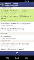 Screenshot of Whirldroid - Whirlpool Forums