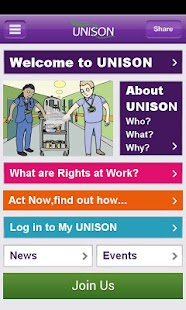 UNISON App - screenshot thumbnail