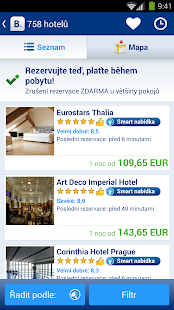 Booking.com - rezervace hotelů - screenshot thumbnail