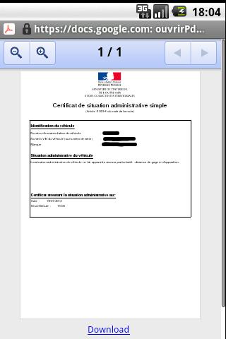 NON DE PDF GAGE ATTESTATION