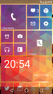 Launcher 8 WP style Screenshot