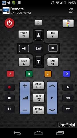 android Télécommande pour TV Samsung Screenshot 4