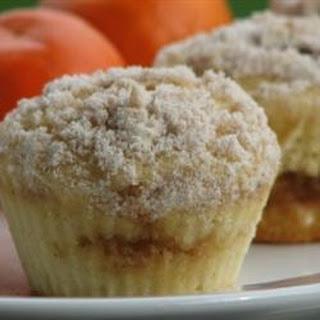 Cinnamon Streusel Orange Muffins.