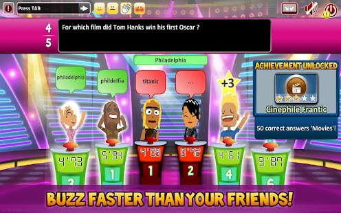 Superbuzzer Trivia Quiz Game- screenshot thumbnail