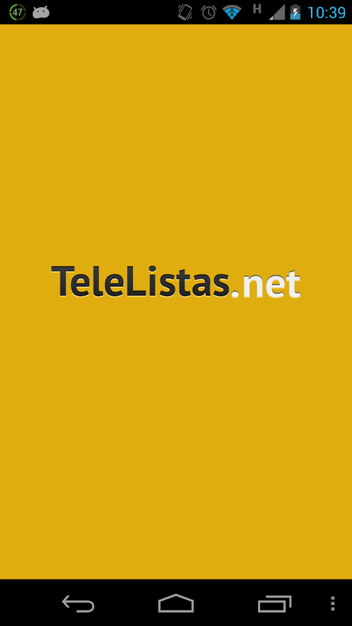 TeleListas.net Mobile- screenshot
