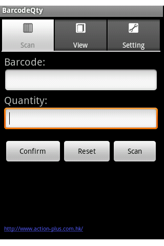 Inventory Barcode Scanner - screenshot