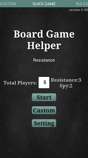 Resistance Helper