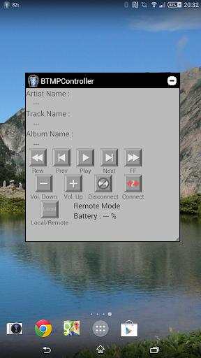 BTMP Controller