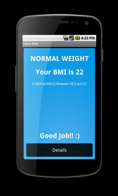 Ultra BMI - screenshot