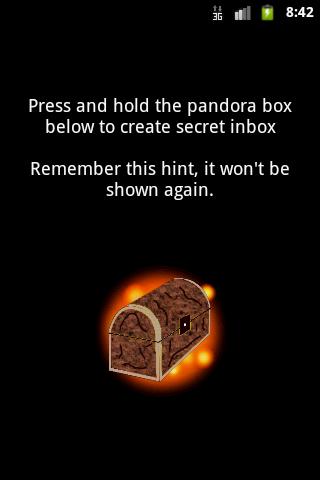Pandora Secret Inbox