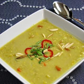 Slow Cooker Coconut Curry Lentil Soup.