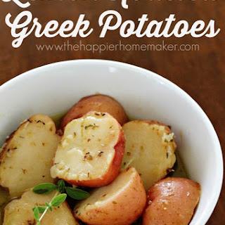 Perfectly Roasted Lemon Greek Potatoes