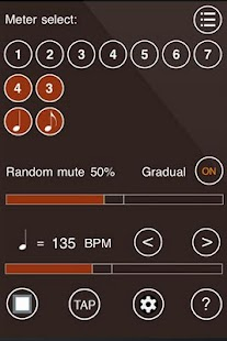Time Guru Metronome - screenshot thumbnail