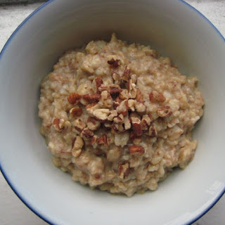 Maple Pecan Oatmeal