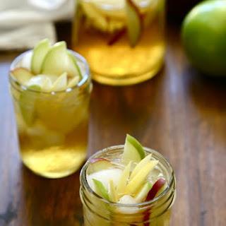 Bourbon Apple Sangria.