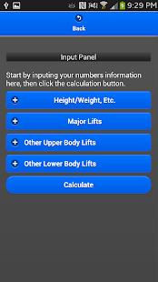 StrengthCalc - LEGACY Edtion - screenshot thumbnail