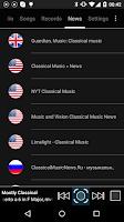 Screenshot of Classical Music