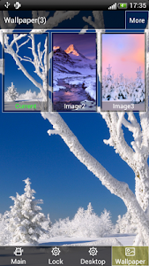 Winner Snow Lock & Wallpaper screenshot 3