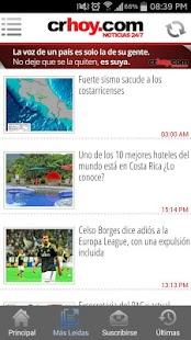 Crhoy.com - screenshot thumbnail
